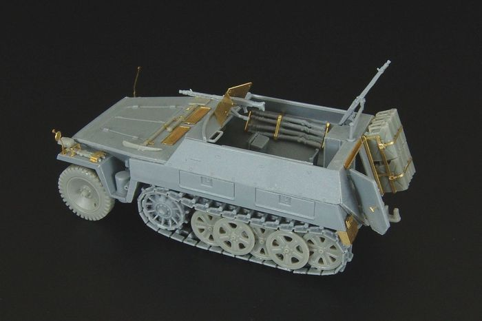 S-Model kit Hauler 1//72 Photo Etch HLH72055 Pz.kpfw.II Ausf.B detail set