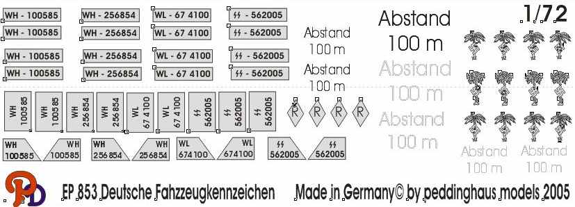German WW2 Licence Plates No 1PRIMARY_SECTIONTracks & Troops On-line